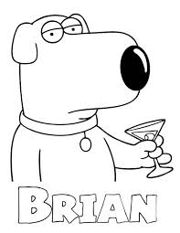 Coloring Pages Family Guy