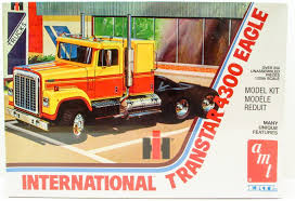 AMT International Transtar 4300 Eagle 1/25 Plastic Model Truck Kit ...