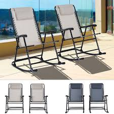 Details About 2pc Outdoor Patio Folding Rocking Chair Set Garden Rocker  Chaise Lounge Mesh Patio Festival Rocking Metal Outdoor Lounge Chair With Gray Cushion 2pack Outsunny Folding Zero Gravity Cup Holder Tray Grey Orolay Comfortable Relax Zyy15 Best Choice Products Foldable Recliner W Headrest Pillow Beige Guo Removable Woven Pad Onepiece Plush Universal Mat Us 7895 Sobuy Fst16 W Cream And Adjustable Footrestin Chaise From Fniture On Ow Lee Grand Cay Swivel Rocker Ikea Poang Kids Chairs Pair Warisan Onda Modway Traveler Green Stripe Sling Leya Rocking Wire Frame Freifrau