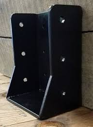 Black Decorative Joist Hangers by Decorative Inside Flange Joist Hanger Custom Beam Brackets