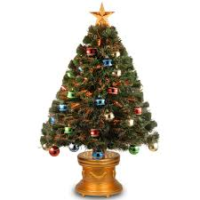 Small Fibre Optic Christmas Trees Sale by National Tree Company 5 Ft Fiber Optic Led Evergreen Artificial