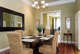 Formal Dining Room Wall Decor Photo
