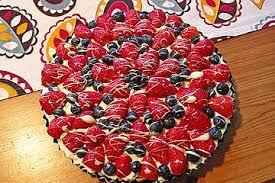 erdbeer heidelbeer tarte