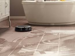 Irobot Roomba Floor Mopping by Scooba Automated Floor Scrubber Robot Product Presentation With