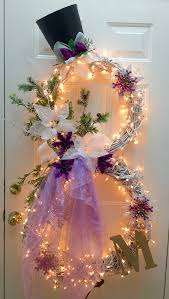 Christmas Tree Shop Erie Pa by My 2015 Version Of A Winter Snowman Wreath In Purple I Used Two