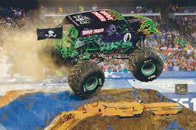 Powerful Ride: Grave Digger Returns To Toledo For Monster Jam - The ... Bigfoot Truck Wikipedia Driving Backwards Moves Backwards Bob Forward In Life And His About Living The Dream Racing The Monster Truck Driver No Joe Schmo Road To Becoming A Matt Cody Tells All Kid Kj 7year Old Monster Driver Youtube Story Many Pics Jam Media Day El Paso Heraldpost Tour Is Roaring Into Kelowna Infonews Aston Martin Unveils Program Called Project Sparta Worlds Faest Gets 264 Feet Per Gallon Wired Sudden Impact Suddenimpactcom Top 10 Scariest Trucks Trend