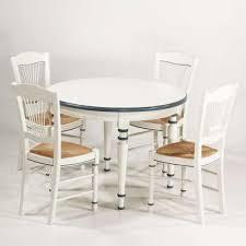 table et 4 chaises ensemble table rustique en chêne 4 chaises en bois 4 pieds