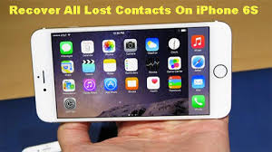 Recover All Lost Contacts My iPhone 6S
