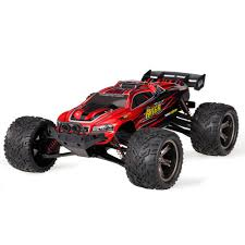 9116 1/12 Scale 2WD 2.4G 4CH RC Monster Truck - RTR - RED - Enjoy RC