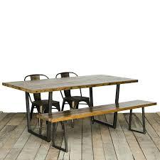 Brooklyn Dining Table Urban Wood Goods Heights