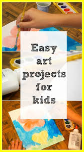 Amazing Simple Afternoon Art Projects Craft Fun And Diy Pict For