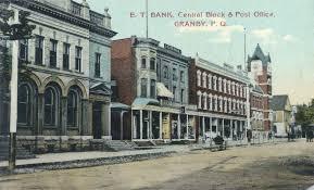 bureau de poste 11 file eastern townships bank bloc central et bureau de poste