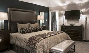 Luxury Bedding Sets Bedroom Transitional With Black Accent Wall Bolster