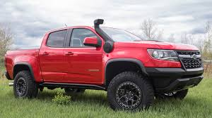100 Snorkel Truck Heres Why The 2018 Chevy Colorado ZR2 Has Been Spotted With A