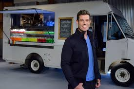 Host Jesse Palmer Of Food Network's Food Truck Face Off | Famous ... Food Trucks In Saint Paul Mn Visit Why Chicagos Oncepromising Food Truck Scene Stalled Out Andrew Zimmern Host Of Bizarre Foods Delicious Desnations Miami Recap With Travel Channel Zimmerns Favorite West Coast Eats The List New York And Wine Festival Carts Parc 2011 Burger Az Canteen Is In For The Season Season Finale Of Tonight Facebook Debuts March 13 Broadcasting Cable Fridays My Kitchen Musings America Returns Monday With Dc