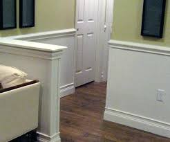 chair rail height install chair rail panel molding and paint it