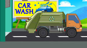 Garbage Truck | Car Wash | Videos For Baby & Toddlers - YouTube