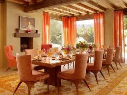 rideaux salle a manger exemple déco salle à manger rideaux