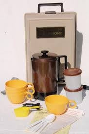 Kar N Home Portable Coffee Maker Vintage Car Camping Pot Set