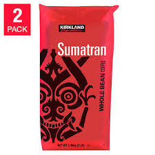 Kirkland Signature Sumatran Whole Bean Coffee 3 Lb 2 Pack