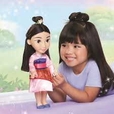 Amazoncom Disney Princess Mulan Toddler Doll Toys Games