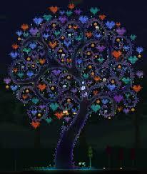 Terraria Halloween Event by Terraria Lunar Events Magic Tree Terraria