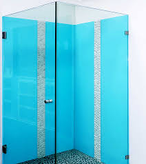 Glass Splashbacks Colour Geelong Blue Coloured Frameless Shower Screen Bathroom Ensuite Cool Living Room