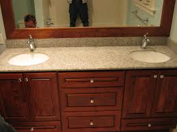 Bertch Bathroom Vanities Pictures by Bertch Hudson Cherry Cabinetry With Hylastone Recycled Glass