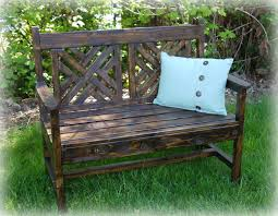 Ana White Headboard Bench by Ana White Red Hen Home U0027s Woven Back Bench Diy Projects