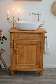 massiv holz waschtisch mit waschbecken handtuchstange