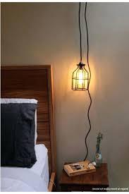 Hanging Lamp Plug Into Wall Dining Room Awesome Lamps That Lighting Regarding Surprising Pendant
