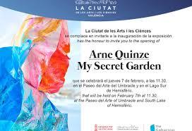 100 Arne Quinze My Secret Garden Valencia