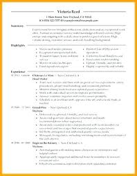 Restaurant Server Resumes This Is Resume Sample Samples Cover