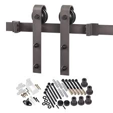 Shop Sliding Barn Door Hardware At Lowes.com Vintage Sliding Barn Door Kit Hdware Kitchen Ideas Doors Cabinet Hcom Rustic 6 Interior Set Shop At Lowescom With Also The Correct Way To Install Small Mini Best 25 Barn Door Hdware Ideas On Pinterest Diy Traditional John Robinson House Decor Amazoncom Yaheetech 12 Ft Double Antique Country Style Black