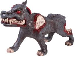Halloween Blow Mold Figures by Blow Molded Possessed Evil Dog Halloween Horror Decoration Fake