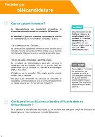 si e pole emploi outils postuler par télécandidature pdf