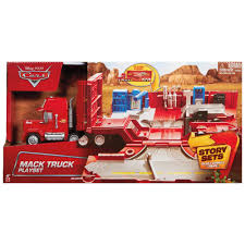 Disney Cars Mack Truck Playset - £23.00 - Hamleys For Toys And Games Jual Mainan Mobil Rc Mack Truck Cars Besar Diskon Di Lapak Disney Carbon Racers Launcher Lightning Mcqueen And Transporter Playset Original Pixar Cars2 Toys Turbo Toy Video Review Heavy Cstruction Videos Mattel Dkv55 Protagonists Deluxe Amazoncouk Red Tayo Amazoncom Disneypixar Hauler Carrying Case 15 Charactertheme Toyworld Story Set Radiator Springs Pictures