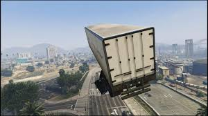 UNBELIEVABLE GTA 5 Semi Truck Stunt Jump!