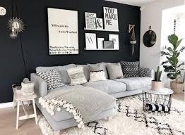 black and white wohnung wohnzimmer wohnzimmer ideen