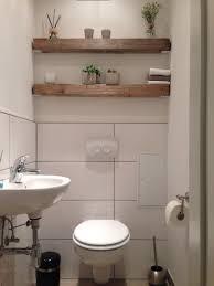 modern trifft rustikal holz balken regal gäste wc gäste
