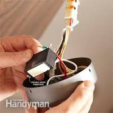 Harbor Breeze Ceiling Fans Remote Frequency by How To Install A Ceiling Fan Remote Family Handyman