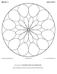 Free Printable Mandala Coloring Pages Flower Animal Halloween