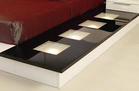impera modern contemporary lacquer platform bed modern furnishings