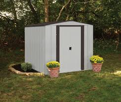 6x5 Shed Double Door by Arrow Newburgh 6x5 Metal Shed Nw65 Free Shipping