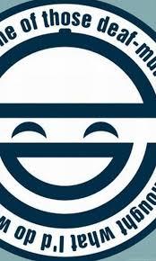 Laughing Man Logo Desktop Background