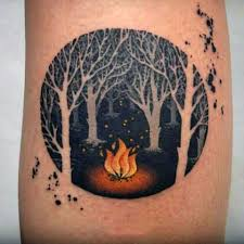 33 Best Flame Armband Tattoos Designs Images On Pinterest