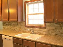 Kitchen Backsplash With Oak Cabinets by Kitchen Adorable Glass Tile Backsplash White Maple Cabinets With