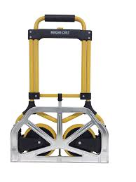 Magna Cart MC2-S Elite Capacity Folding Hand Truck, 200 Lb, Yellow ... Magna Cart Ideal 150 Lb Capacity Steel Folding Hand Truck Amazoncom Flatform 300 Four Wheel Platform Elite 200 Ebay Xinfly Wired Electronic Alarm Siren Horn 2 Tone Inoutdoor Dollies Trucks Paylessdailyonlinecom Elama Home Heavyduty Carry All Easy W Lid Page 1 Packnroll 85607 With Alinum Toe Plate Go Suppliers And Manufacturers At Alibacom Trolley Dolly 2in1 Comfort Handle Plastic Relius Premium Youtube