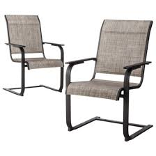 Stackable Outdoor Sling Chairs by Chairs Terrific Sling Back Patio Chairs Outdoor Patio Sling