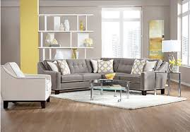 Cindy Crawford Metropolis 3pc Sectional Sofa by The Cindy Crawford State Street Gray 3pc Sectional Sofa Review